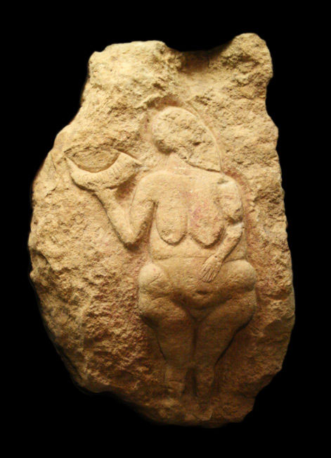 photo of the Venus de Lausell